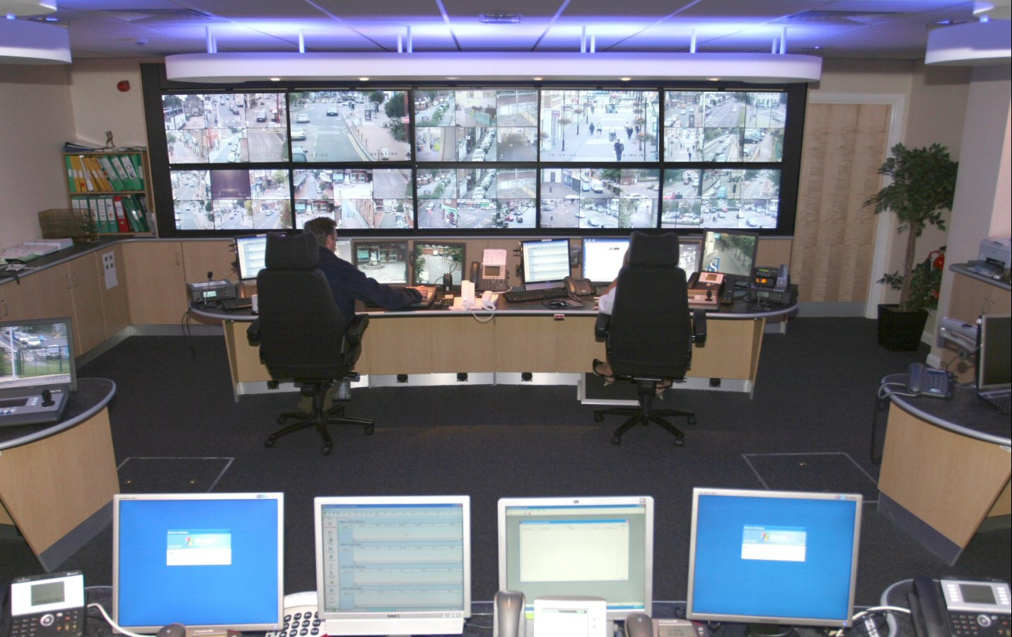Runneymead Control Room